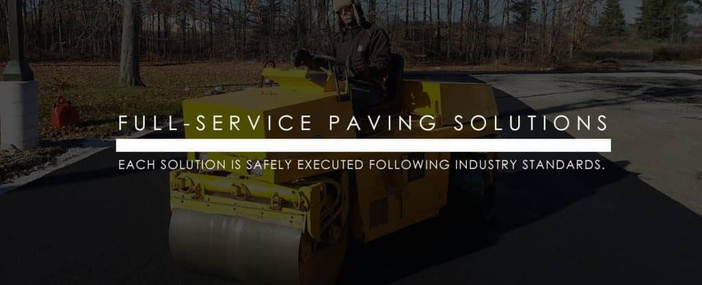 full service paving solution