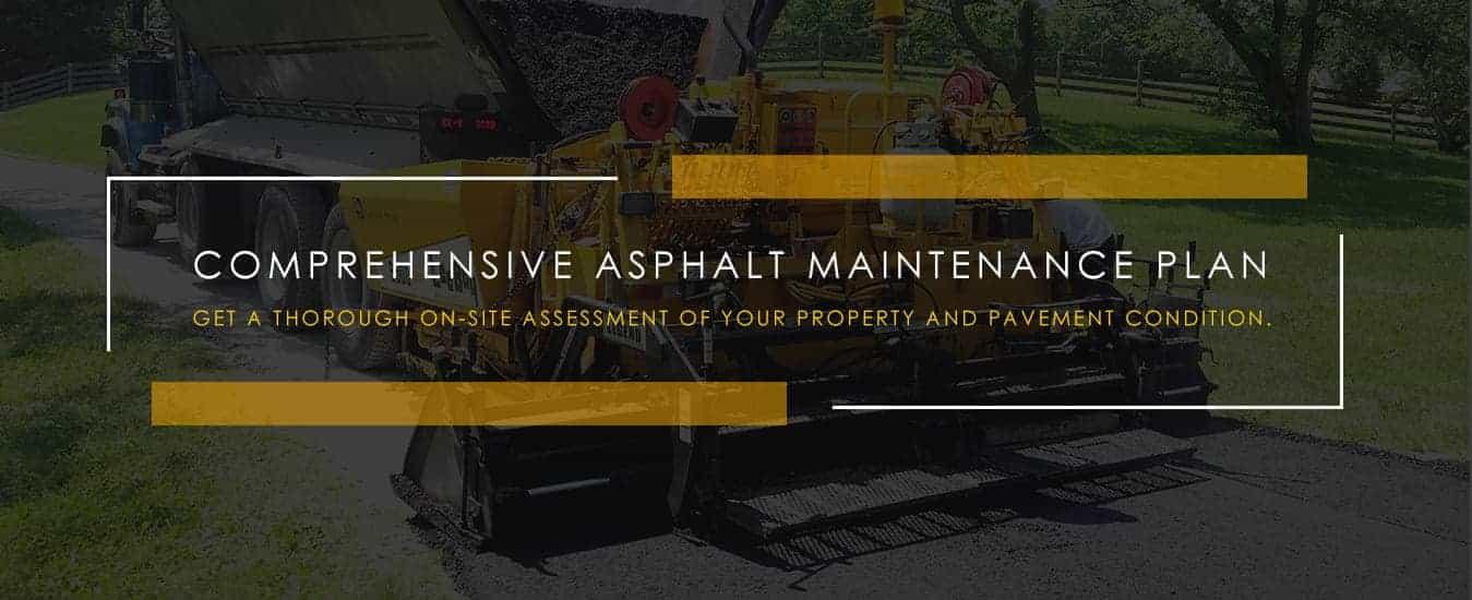 comprehensive asphalt maintenance plan